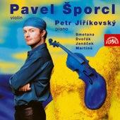 Violin Recital of Smetana, Dvořák, Janáček, Martinů, Ševčík de Pavel Sporcl
