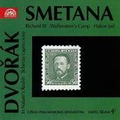 Smetana:  Richard III, Wallenstein's Camp, Hakon Jarl / Dvorak:  In Nature's Relam, Scherzo capriccioso by Czech Philharmonic Orchestra