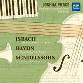 J.S. Bach, Haydn and Mendelssohn: Piano Concertos de Joshua Pierce
