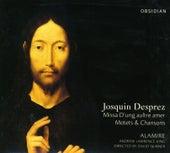 Josquin Des Prez: Missa D'Ung Aulre Amer / Motets / Chansons de Andrew Lawrence-King