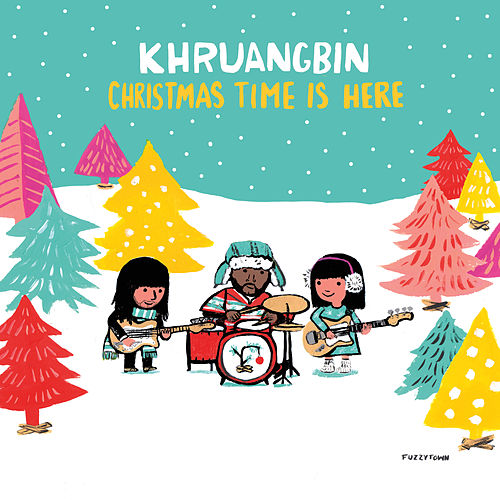 Christmas Time Is Here b/w Christmas Time Is Here (Version Mary) by Khruangbin