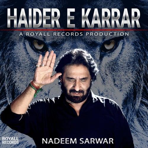 Haider e Karrar by Nadeem Sarwar