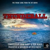 James Bond - Thunderball - Main Theme by Geek Music