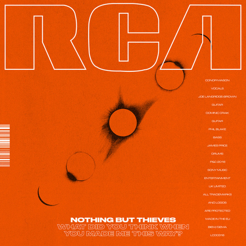 What Did You Think When You Made Me This Way? by Nothing But Thieves