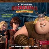 Folge 34: Ein wahrer Anführer / Der Klügere gibt nach (Das Original-Hörspiel zur TV-Serie) von Dragons - Auf zu neuen Ufern