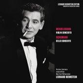Mendelssohn: Violin Concerto in E Minor, Op. 64 - Schumann: Cello Concerto in A Minor, Op. 129 von Leonard Bernstein