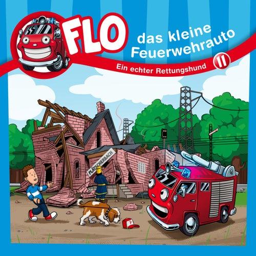 Ein echter Rettungshund (Flo, das kleine Feuerwehrauto 11) (Kinder-Hörspiel) von Christian Mörken