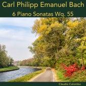 Carl Philipp Emanuel Bach: 6 Piano Sonatas Wq. 55 von Claudio Colombo