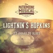 Les Idoles Du Blues: Lightnin' Hopkins, Vol. 1 de Lightnin' Hopkins