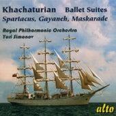 Khachaturian: Famous Ballet Suites: Spartacus – Gayaneh - Maskarade de Yuri Simonov