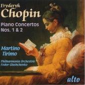 Chopin: Piano Concertos Nos. 1 & 2 von Martino Tirimo
