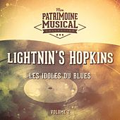 Les Idoles Du Blues: Lightnin' Hopkins, Vol. 2 de Lightnin' Hopkins
