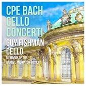 C.P.E. Bach: Concerti for Cello, Strings & Basso continuo von Guy Fishman