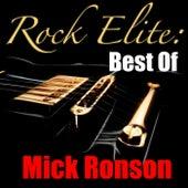 Rock Elite: Best Of Mick Ronson (Live) de Mick Ronson