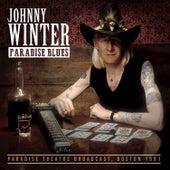 Paradise Blues de Johnny Winter