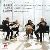 Beethoven - Davidovsky -  Bartók de Juilliard String Quartet