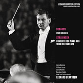 Strauss: Don Quixote, Op. 35 - Stravinsky: Concerto for Piano and Wind Instruments di Leonard Bernstein / New York Philharmonic