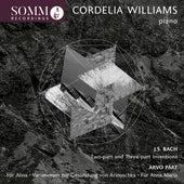 Bach & Pärt: Piano Works by Cordelia Williams