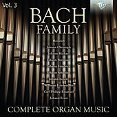 Bach Family: Complete Organ Music, Vol. 3 by Stefano Molardi