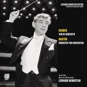 Barber: Violin Concerto, Op. 14 - Bartók: Concerto for Orchestra von Leonard Bernstein