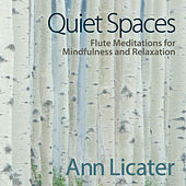 Quiet Spaces: Flute Meditations for Mindfulness and Relaxation by Ann Licater
