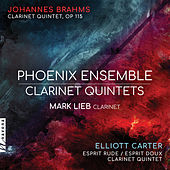 Brahms & Carter: Clarinet Quintets by Various Artists