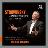 Stravinsky: Le sacre du printemps & The Firebird Suite von Symphonie-Orchester des Bayerischen Rundfunks
