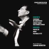Hindemith: Symphonic Metamorphoses & Concert Music, Op. 50 - Honegger: Pacific 231 & Rugby & Pastorale d'été von Leonard Bernstein