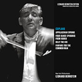 Copland: Appalachian Spring, Rodeo, Billy the Kid & Fanfare for the Common Man von Leonard Bernstein
