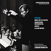 Copland: Music for the Theatre, Connotations for Orchestra, Inscape & El salón México by Leonard Bernstein