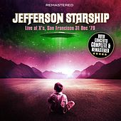 Live at X's, San Francisco 31 Dec '79 - Complete & Remastered de Jefferson Starship