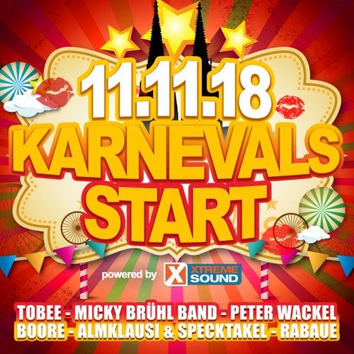 11.11.18 Karnevals Start powered by Xtreme Sound von Various Artists