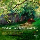 Dvořák, Janáček, Martinů: Works for Strings de Roberto Forés Veses
