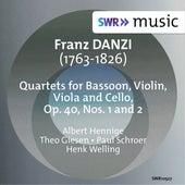 Danzi: Quartet for Bassoon, Violin, Viola & Cello, Op. 40, Nos. 1 & 2 von Albert Hennige