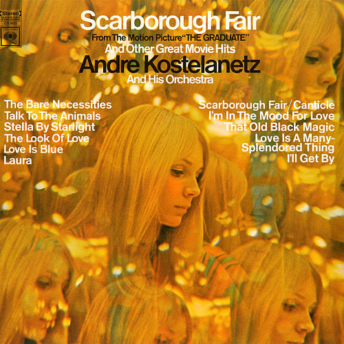 Scarborough Fair and Other Great Movie Hits de Andre Kostelanetz & His Orchestra