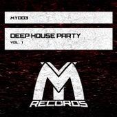 Deep House Party Vol.1 de Various Artists