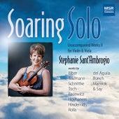 Soaring Solo - Unaccompanied Works for Violin and Viola, Vol. 2 von Stephanie Sant'Ambrogio