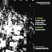 Strauss: Festival Prelude & Dance of the Seven Veils from Salome - Stravinsky: Pulcinella Suite by Leonard Bernstein