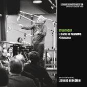 Stravinsky: Le Sacre du printemps & Pétrouchka by Leonard Bernstein