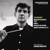 Tchaikovsky: 1812 Overture & Hamlet, Op. 67 & Serenade for Strings, Op. 48 & Andante cantabile, Op. 11/2 by Leonard Bernstein