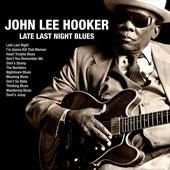 Late Last Night Blues de John Lee Hooker