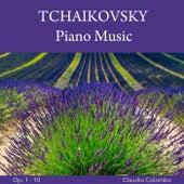 Tchaikovsky: Piano Music, Op. 1 - 10 von Claudio Colombo