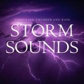 Lightning, Thunder and Rain Storm Sounds von Backgroundmusic