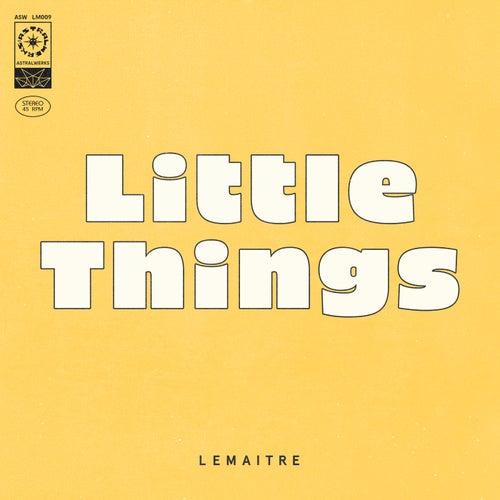 Little Things de Lemaitre