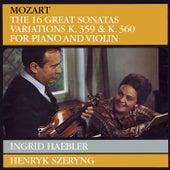 Mozart: Violin Sonatas de Henryk Szeryng