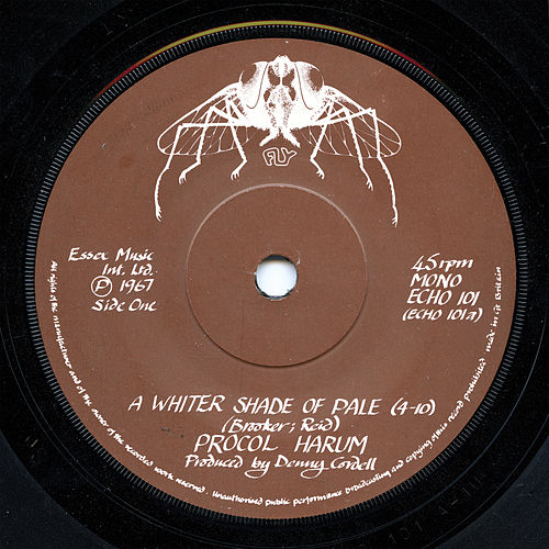 A Whiter Shade of Pale (Original Single Version) by Procol Harum