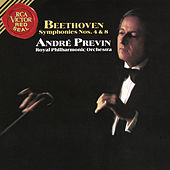 Beethoven:Symphony No. 4 in B-Flat Major, Op. 60 & Symphony No. 8 in F Major, Op. 93 by André Previn