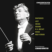Rhapsodies: Liszt - Enescu - Brahms - Mozart - Dinicu - Wolf-Ferrari von Leonard Bernstein