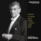 Overtures: Mozart - Nicolai - Strauss, Jr. - von Weber - Thomas by Leonard Bernstein