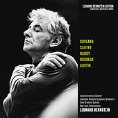 Copland: Danzón Cubano - Carter: Concerto for Orchestra - Works by Handy, Brubeck & Austin by Leonard Bernstein